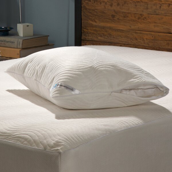 Posturepedic Cooling Comfort Zippered Pillow Encasement by Sealy