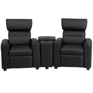 Kids Leather Recliner with Storage Compartment and Cup Holder  sc 1 st  Wayfair & Kidsu0027 Recliners islam-shia.org