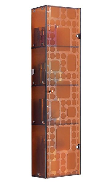 11.75 W x 47.25 H Wall Mounted Cabinet by Fab Glass and Mirror