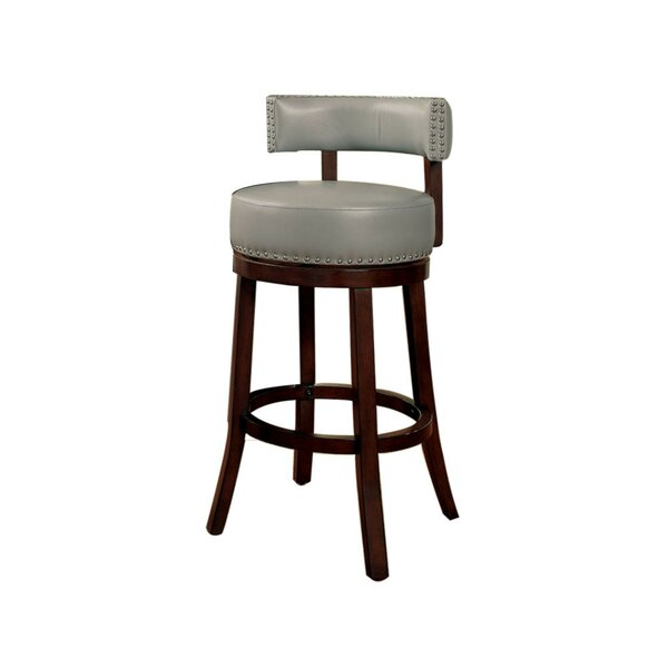 Amell Bar & Counter Swivel Stool (Set of 2) by Darby Home Co Darby Home Co