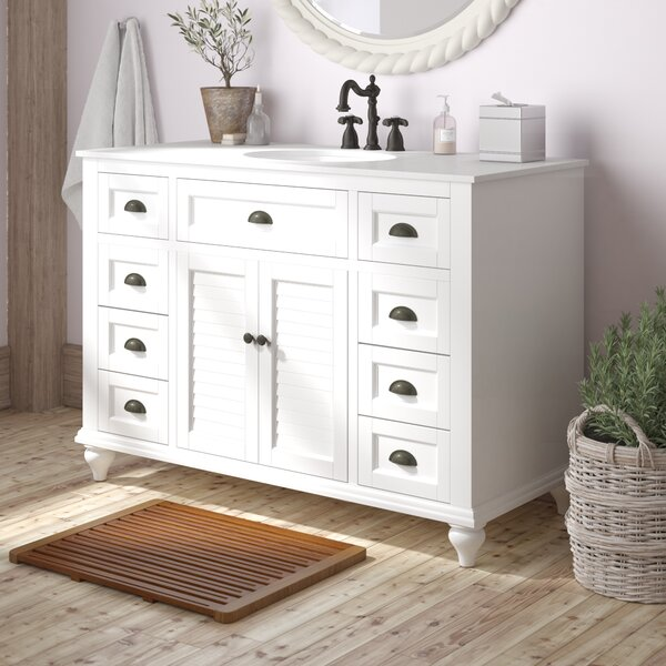 Evelyn 49 Single Bathroom Vanity Set by Gracie Oaks