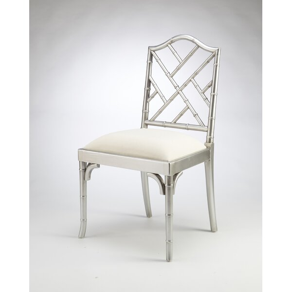 Hilal Solid Wood Dining Chair by Bayou Breeze
