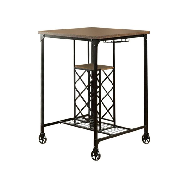 Weber 3 Piece Pub Table Set by Gracie Oaks