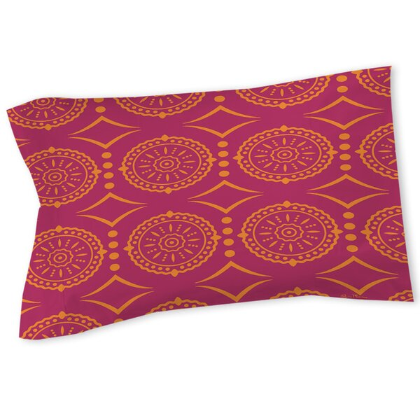 Banias Medallion Sham by Manual Woodworkers & Weavers