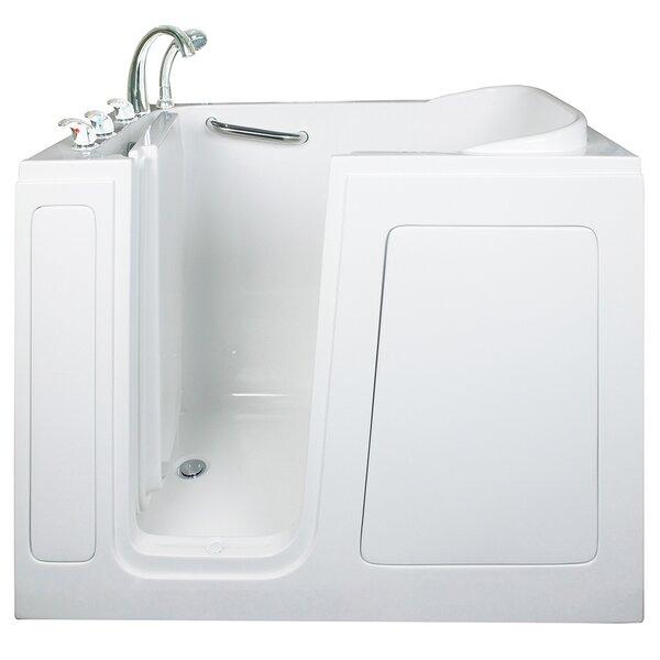 Short Long Whirlpool Walk-In Tub by Ella Walk In Baths