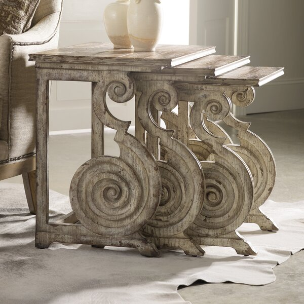 Rhapsody 3 Piece Nesting Tables by Hooker Furniture