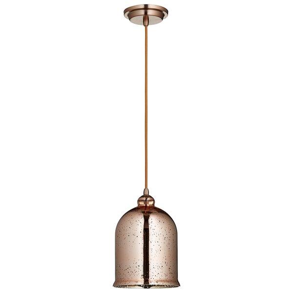 Celia 1-Light Bell Pendant by Cyan Design
