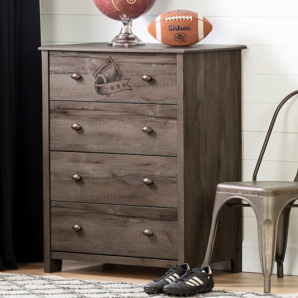 Vinbardi Football 4 Drawer Chest by South Shore