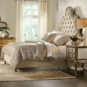 sanctuary upholstered panel bed sanctuary upholstered panel bed by hooker furniture