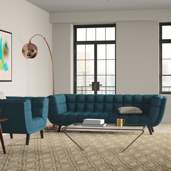 Seneca 2 Piece Living Room Set by Brayden Studio