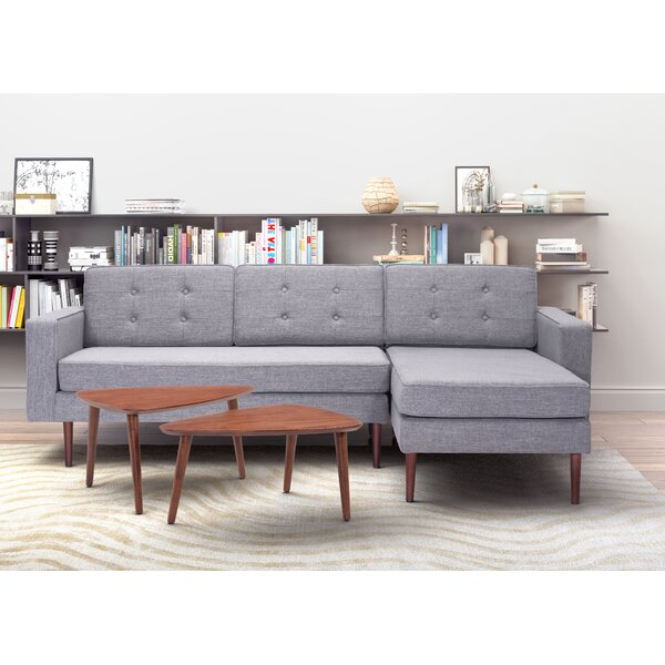 Eloise Right Hand Facing Sectional By Corrigan Studio