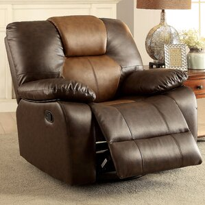 Oxnard Manual Swivel Recliner by Loon Peak