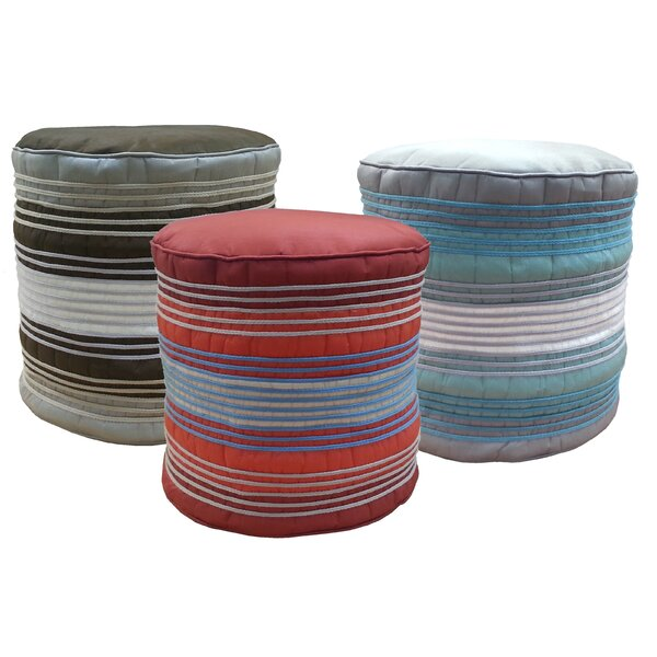 Shoelace Cord Pouf by Edie Inc.