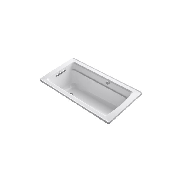 Archer 60 x 32 BubbleMassage Drop-in Bathtub by Kohler