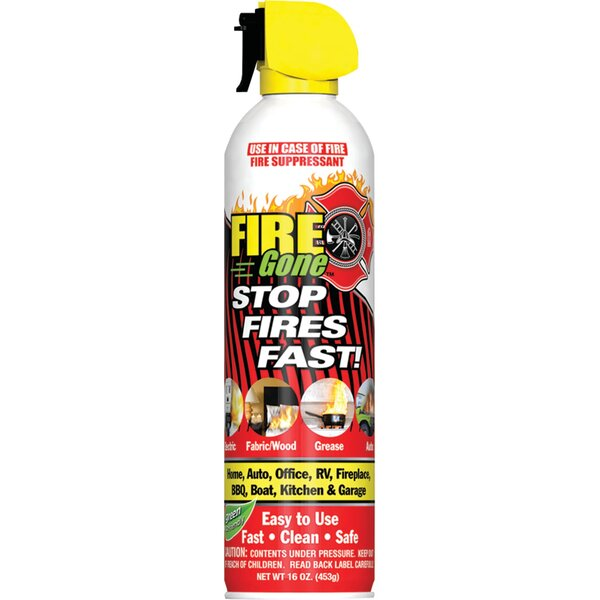 Suppressants With Bracket Fire Extinguisher by Fire Gone