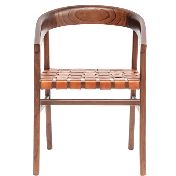 Gia Cedar Wood Barrel Chair by Union Rustic
