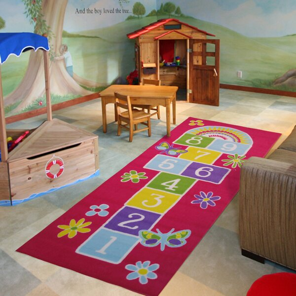 Fun Time Garden Hopscotch Area Rug by Fun Rugs