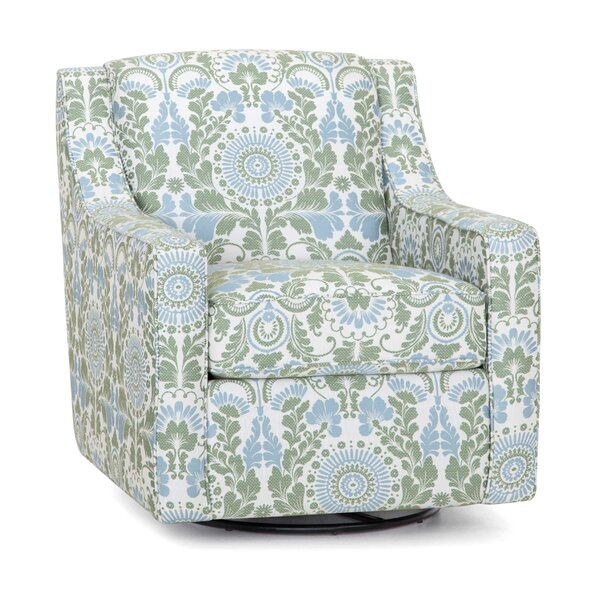 Whetsel Glider Swivel Armchair by Charlton Home