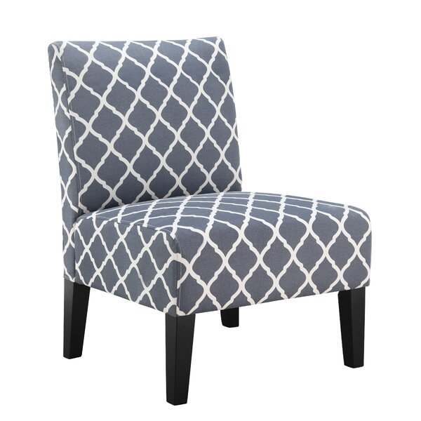 Lisette Slipper Chair by Andover Mills