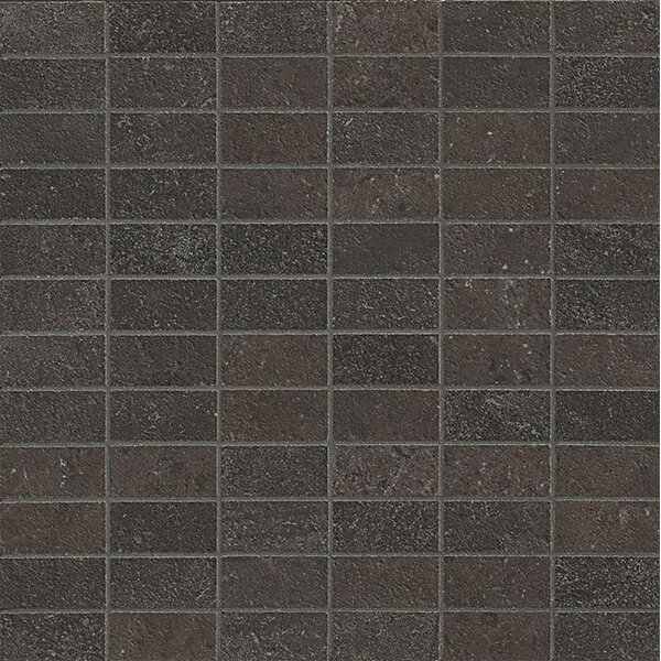 Tribeca 1 x 2 Porcelain Mosaic Tile in Broadway by Bedrosians
