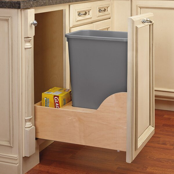 8.75 Gallon Pullout Trash Can by Rev-A-Shelf