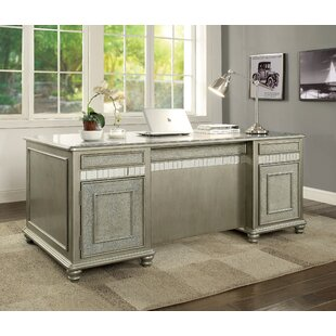 Great Price Gabrielle Executive Desk By Rosdorf Park