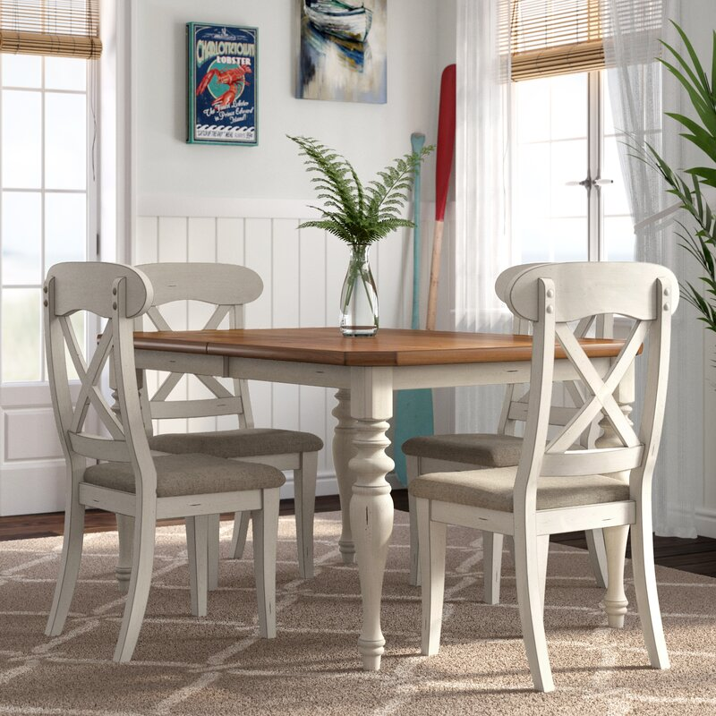 Beachcrest Home Bridgeview 5 Piece Dining Set & Reviews | Wayfair