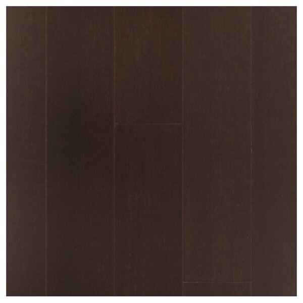 4-3/4 Solid Strand Woven Bamboo  Flooring in Espresso by Easoon USA