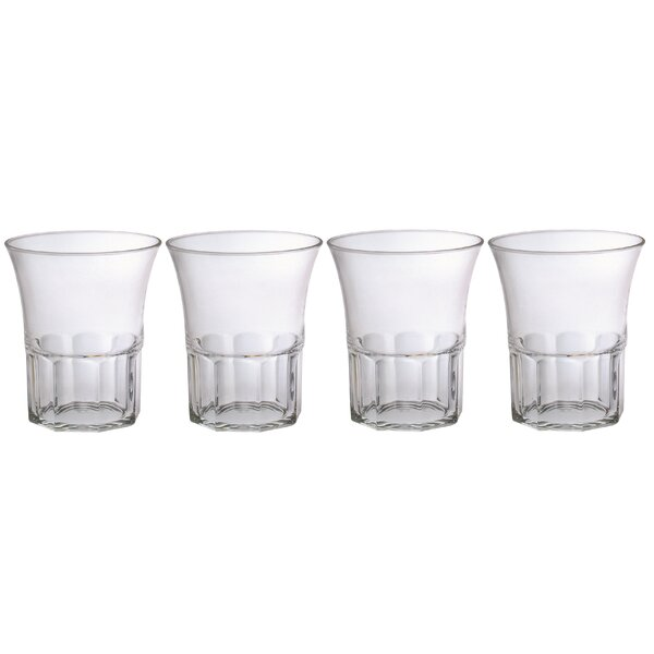 Edge 14 oz. Plastic Cocktail Glass (Set of 4) by Chenco Inc.