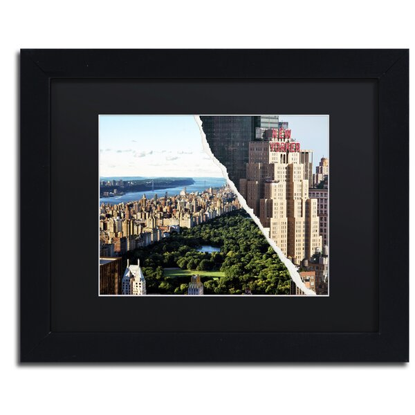 Central Park View by Philippe Hugonnard Framed Photographic Print by Trademark Fine Art