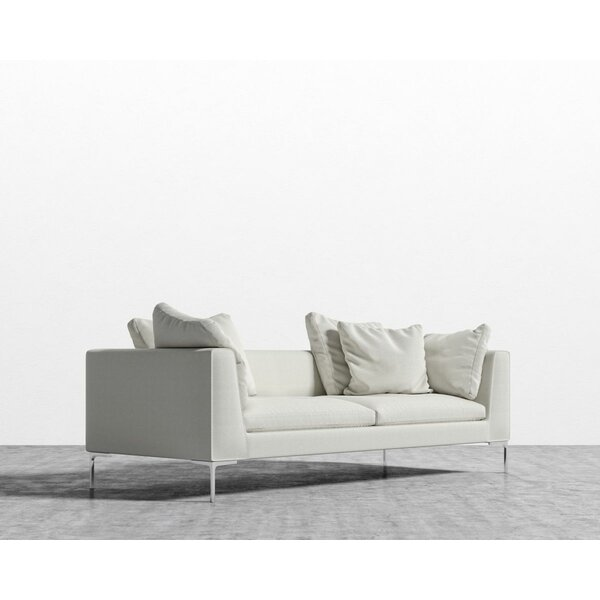 Rita Square Arms Sofa By Everly Quinn