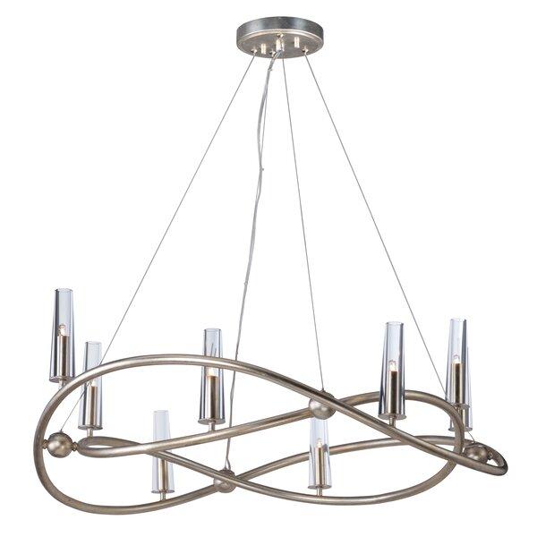 Lanigan 8 - Light Unique / Statement Geometric Chandelier By Mercer41