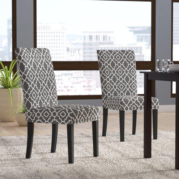 Kinkead Upholstered Dining Chair (Set of 2) by Alcott Hill