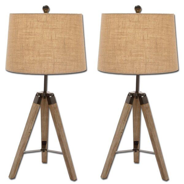 Weathered Tripod 31 Table Lamp (Set of 2) by Urban Designs