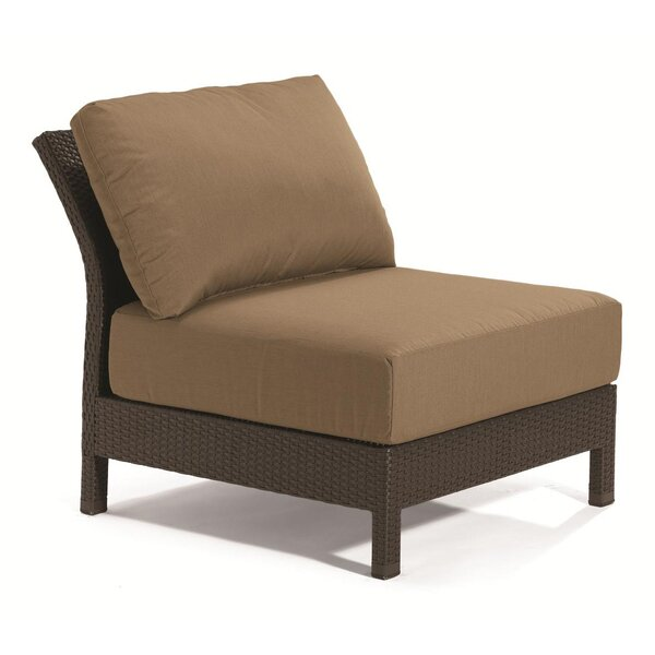 Evo Armless Patio Chair with Cushions by Tropitone