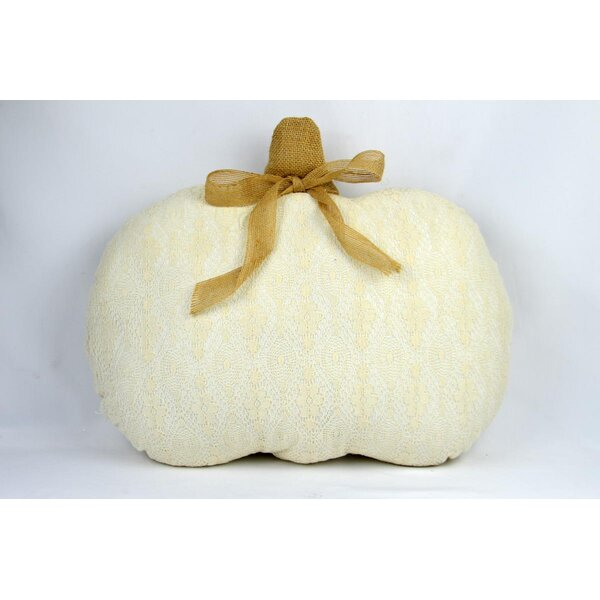 Masuda Fabric Pumpkin Throw Pillow by The Holiday Aisle