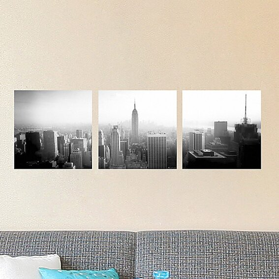 Euro New York Panoramic Wall Decal Mural by Brewster Home Fashions