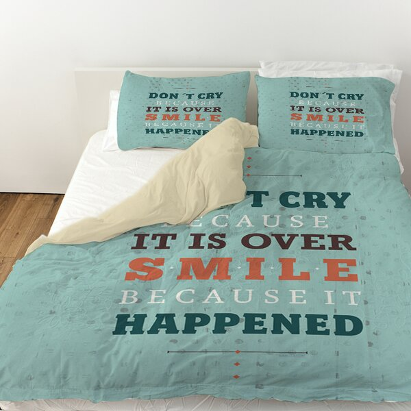 Smile at Past Duvet Cover by Manual Woodworkers & Weavers
