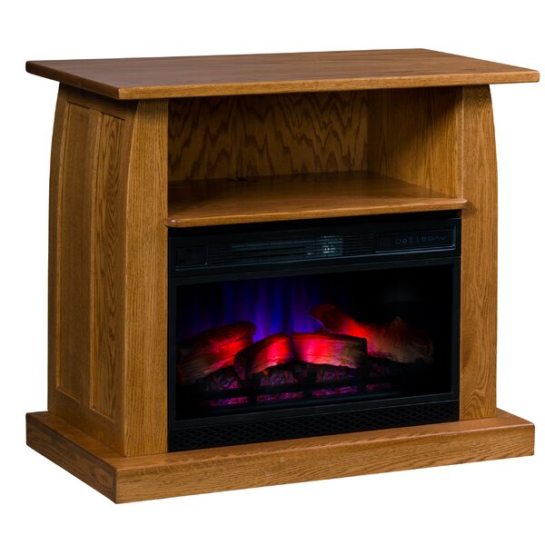 Bridie Curved LED Electric Fireplace By Latitude Run