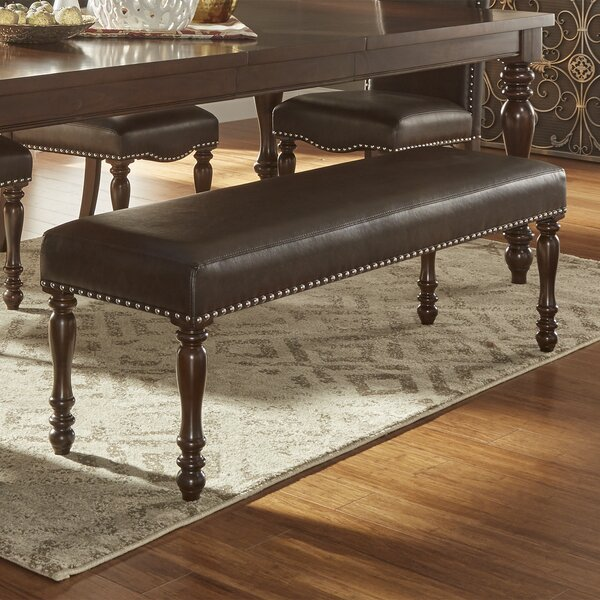Hilliard Upholstered Bench by Darby Home Co Darby Home Co