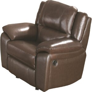 Eubanks Leather Recliner by Da..