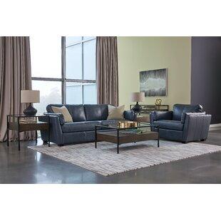 Burnam Leather Standard Configurable Living Room Set by Palliser Furniture