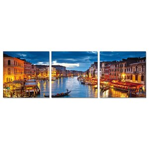 Cao Wall Mounted Triptych 3 Piece Photographic Print Set by Zipcode Design