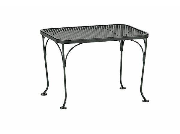 Mesh Top Occasional Side Table by Woodard