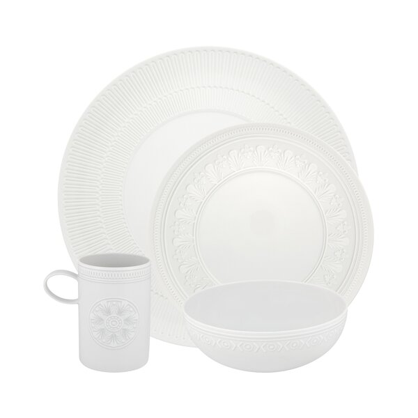 Ornament 4 Piece Place Setting, Service for 1 by Vista Alegre