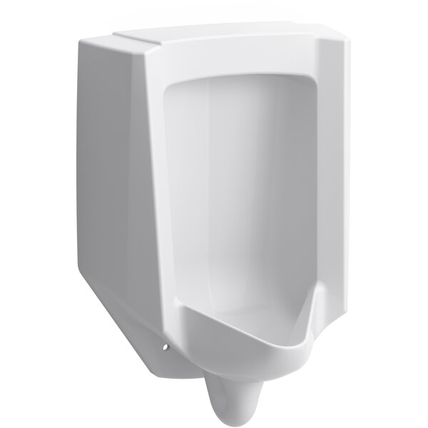 Bardon™ High-Efficiency Urinal (HEU), Washdown, Wall-Hung, 0.125 GPF to 1.0 GPF, Rear Spud, Antimicrobial by Kohler