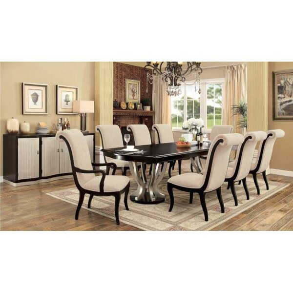 Annandale 9 Piece Extendable Dining Set by Andrew Home Studio Andrew Home Studio