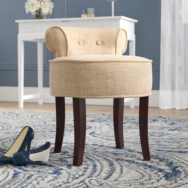 Osteler Vanity Stool by Darby Home Co