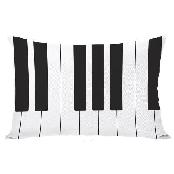 Piano Lumbar Pillow by One Bella Casa