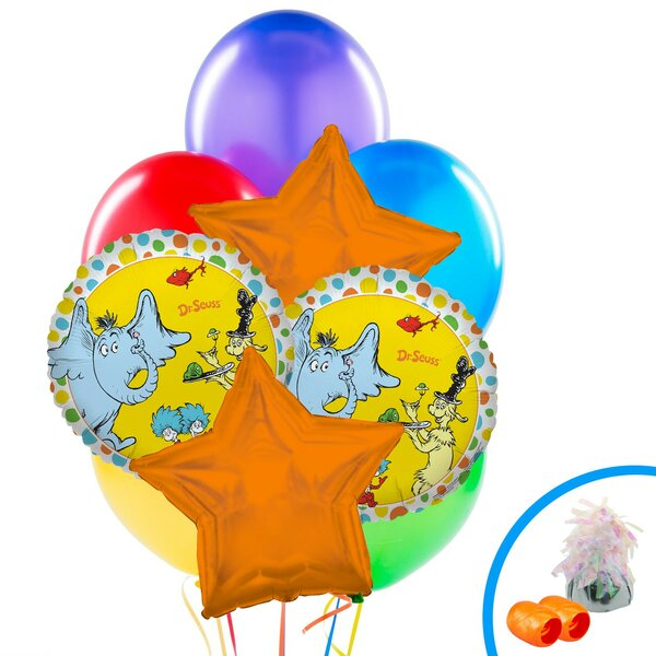 13 Piece Dr Seuss Balloon Bouquet Set [NA]